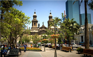 Lugares-para-visitar-en-Santiago-Plaza-de-Armas